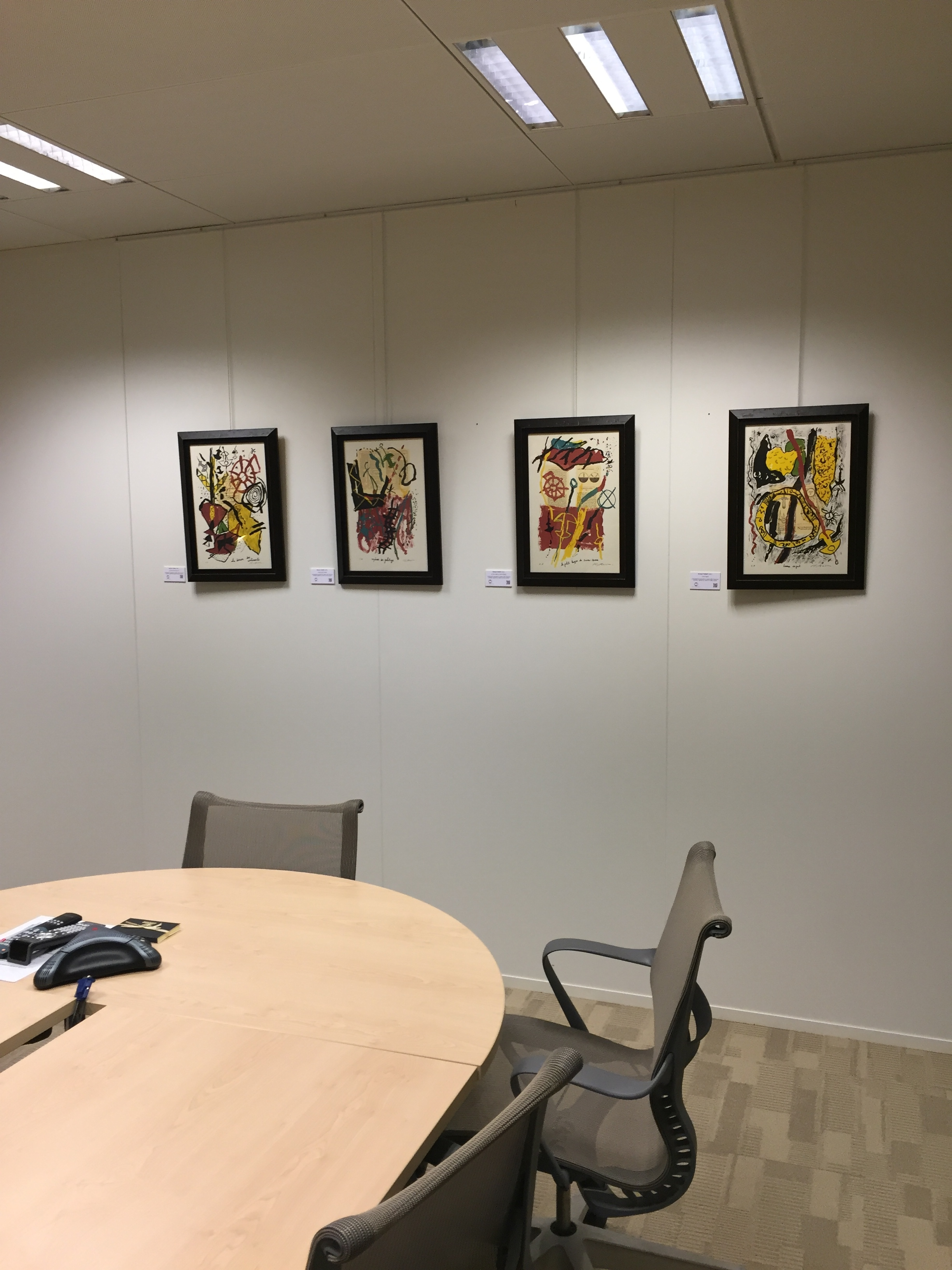 Series of signed original lithographs (prints of artist)