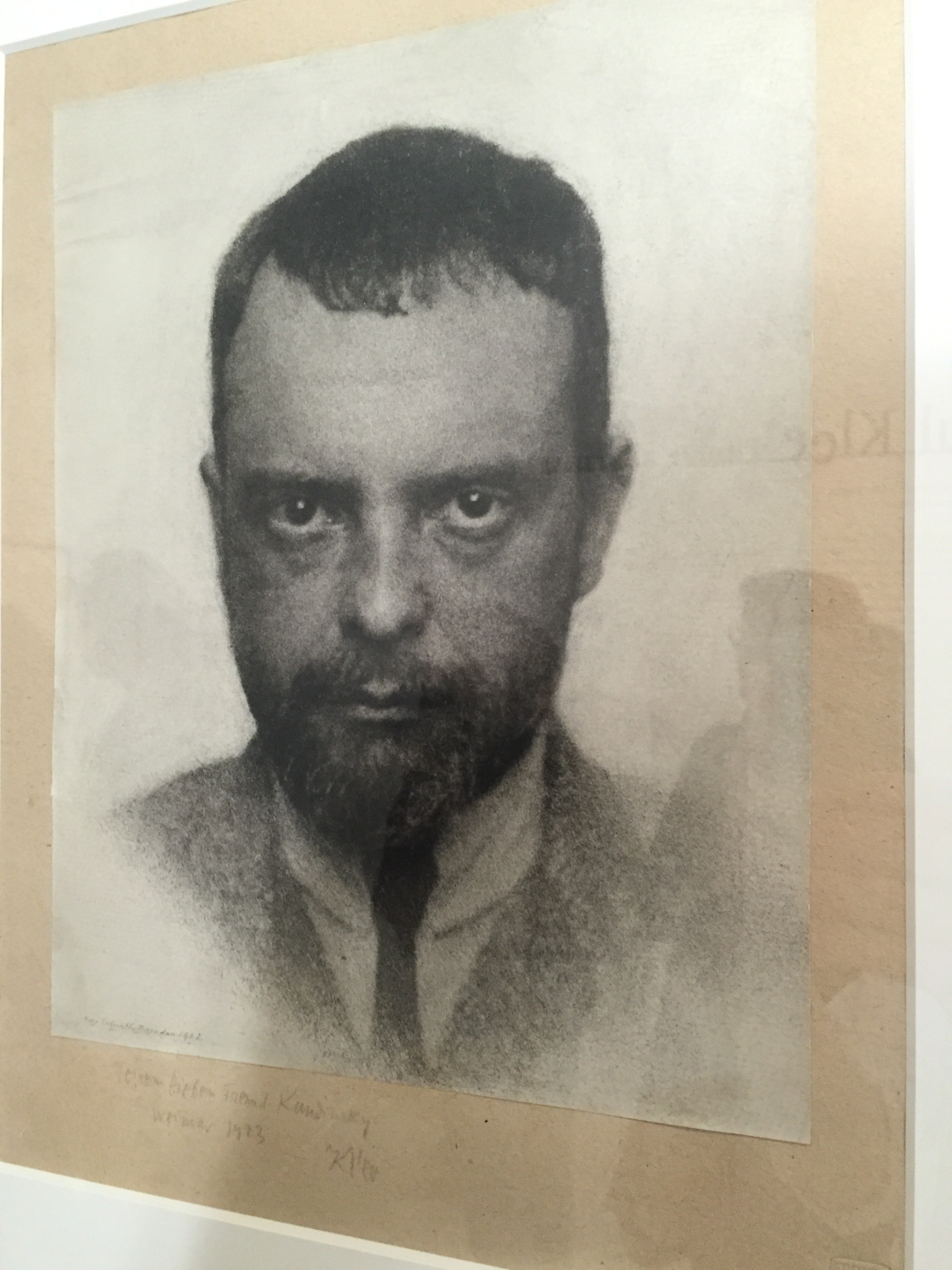 Photograph of Paul Klee